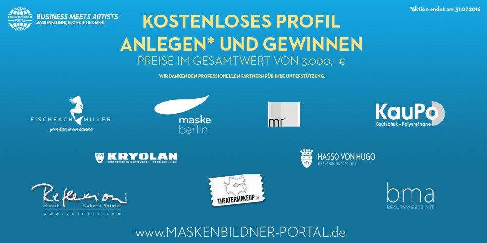 MASKENBILDNER-PORTAL.de ÖFFNET