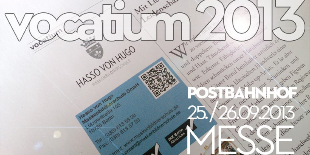 MESSE VOCATIUM 2013